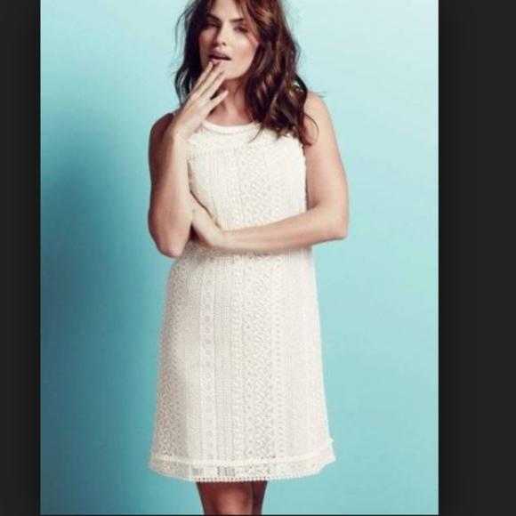 86aa5585c69d Boden Dresses   Skirts - Boden eyelet lace pom pom shirt dress